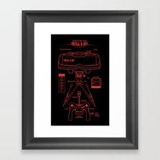 Virtual & Boy Framed Art Print