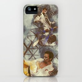Flanery Passion For BJJ iPhone Case