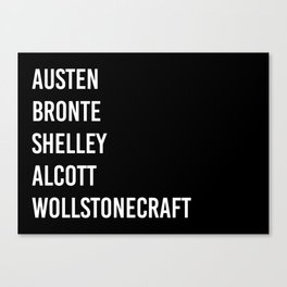 WOMEN OF CLASSICS Canvas Print