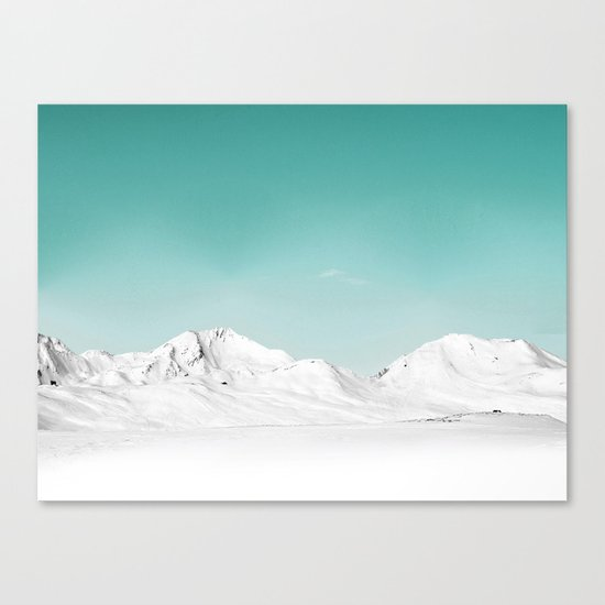 Pastel Mountain Canvas Print