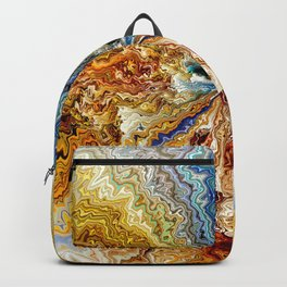 ON AN ISLAND Backpack