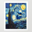 Soaring Tardis doctor who starry night iPhone 4 4s 5 5c 6, pillow case, mugs and tshirt by dezigner007