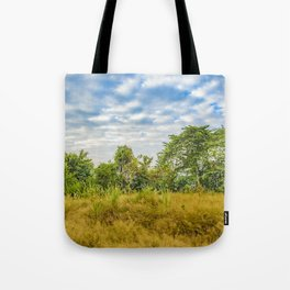 Meadow Tropical Landscape Scene, Guayaquil, Ecuador Tote Bag