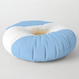 Flag of Argentina Floor Pillow