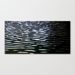 Reflection in Dark Water Canvas Print