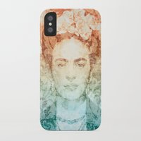 frida iPhone & iPod Cases featuring Frida  by Aive Trujillo Photography