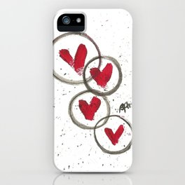 Love Connection iPhone Case