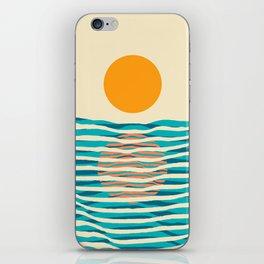 Ocean current iPhone Skin