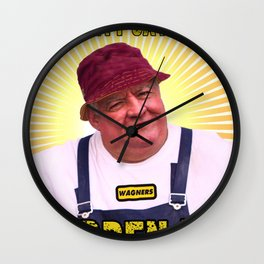 Fruity Says....HARDEN UP Wall Clock