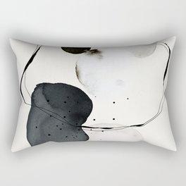 Contemporary Art, Minimalistic  Rectangular Pillow