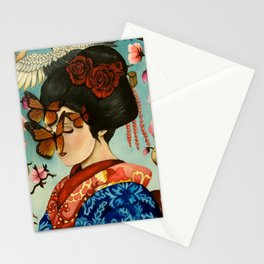 The Exploitation of Butterfly Stationery Cards