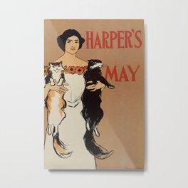 Harper's May 1898 Metal Print