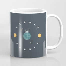 Rabbit Rabbit Planet Earth Coffee Mug