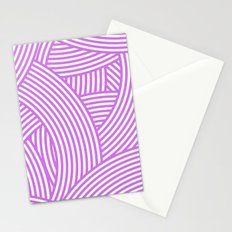 New Weave in Radiant Orchid Stationery Cards