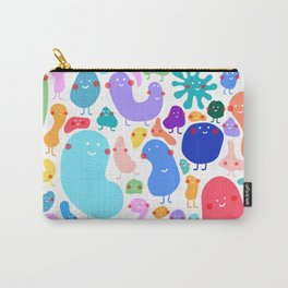 Bacterial world Carry-All Pouch