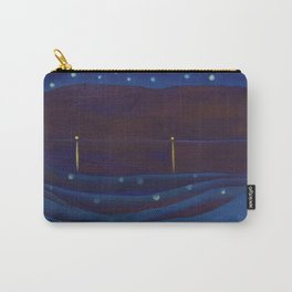 Starlight Night, Lake George, New York landscape painting by Georgia O'Keeffe Carry-All Pouch