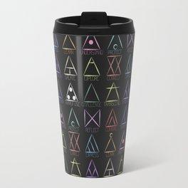 Glyphs Travel Mug