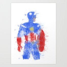 Rogers Colour Bomb Art Print