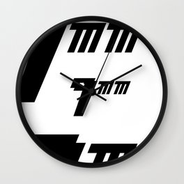 Nueve milimetros Wall Clock