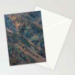 oxidized slope Stationery Cards