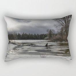 An Intricate Landscape Rectangular Pillow