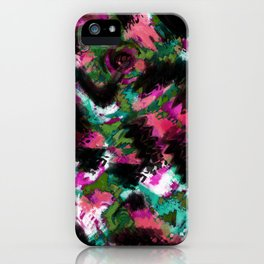 """Watercolor glamour "".  ""Watermelon  juice"" . iPhone Case"