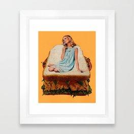 Sandwich Artist Framed Art Print