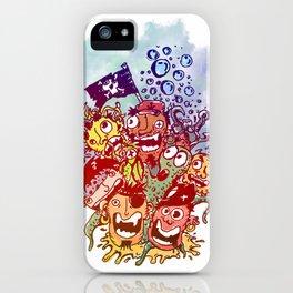 Los Piratas iPhone Case