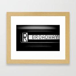NYC lately 35 Framed Art Print