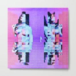 """BI-Chopped Nude"" by Nacho Dung Metal Print"