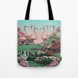 Flamingo Park Tote Bag