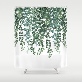 Ivy Vine Drop Shower Curtain