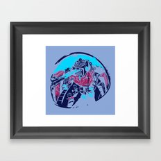 Mechanical Mayhem Framed Art Print