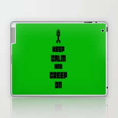 Keep Calm and Creep On Laptop & iPad Skin