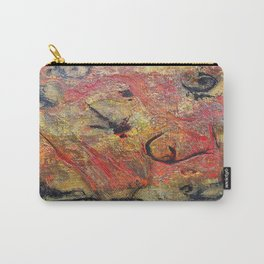 Rokteem Okhor - Mixed Media Acrylic and Foil Abstract Modern Art, 2015 Carry-All Pouch