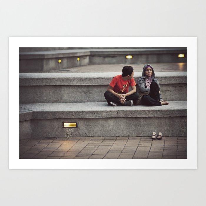 Asia 46 Art Print