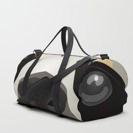 2D sloth Duffle Bag