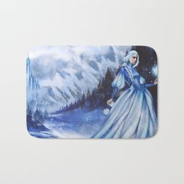 Snow Queen Heart of Ice book by KM Shea Bath Mat