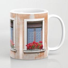 Three Windows in Venice Coffee Mug