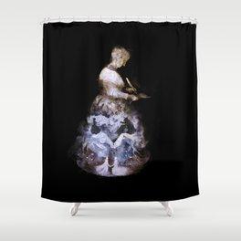 Madame de Villeneuve Shower Curtain