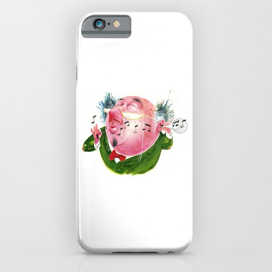The Music Critic iPhone & iPod Case