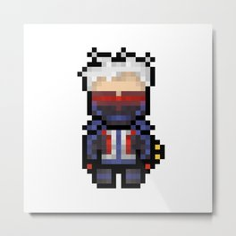soldier 76 16-bit Metal Print