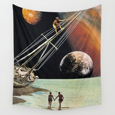 Set Sail for the Stars Wall Tapestry