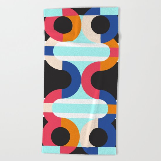 Geometric#17 Beach Towel