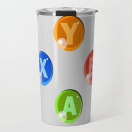 XBOX 360 Buttons Travel Mug
