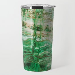 MINERAL BEAUTY - MALACHITE Travel Mug