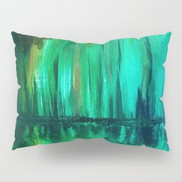 Green reflection Pillow Sham