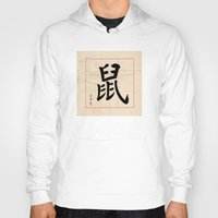 rat Hoodies featuring Rat  by Calligrapher