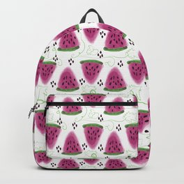 Watermelon pattern. Backpack