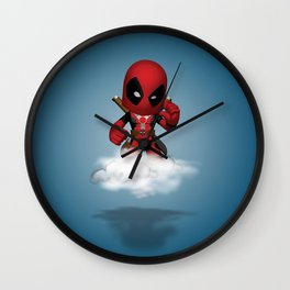 I'm Diedpool Flying Wall Clock